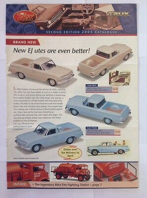 Trax Catalogue Second Edition 2005 - Holden, Ford, Valiant, Chrysler Model Cars