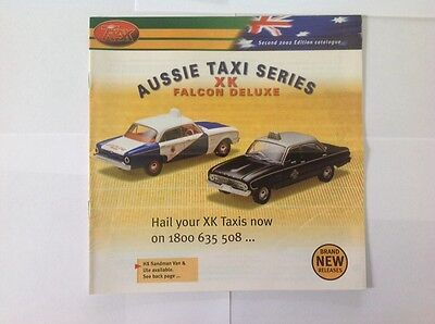 Trax Catalogue Second Edition 2002 - Holden, Ford, Valiant, Chrysler Model Cars