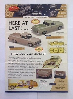 Trax Catalogue First Edition 2004 - Holden, Ford, Valiant, Chrysler Model Cars