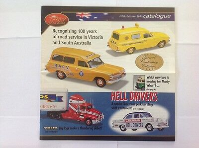Trax Catalogue Fifth Edition 2003 - Holden, Ford, Valiant, Chrysler Model Cars