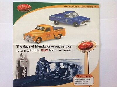 Trax Catalogue Second Edition 2001 - Holden, Ford, Valiant, Chrysler Model Cars