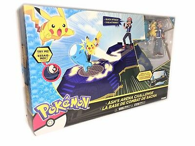 POKEMON Ash's Arena Challenge TOMY BATTLE TOY (Lights & Sounds) BRAND NEW BOXED