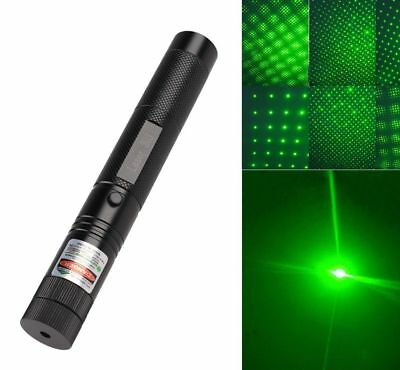 Hochleistungs 532nm 1mW Grün Green Laserpointer Pen Burning Match Strahl Stern
