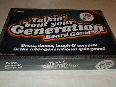 Talkin Bout Your Generation Board Game - New