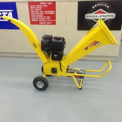 Greatbull GBK65 Chipper Shredder Briggs and Stratton 6.5 hp Engine