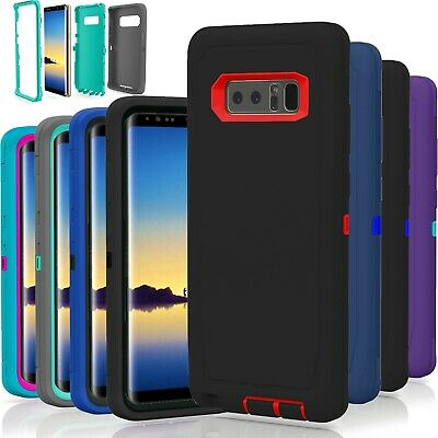 Samsung Galaxy Note 8 Case Cover TPU Shockproof Hybrid Hard Rugged Rubber TPU