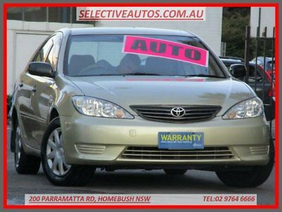 2005 Toyota Camry MCV36R Upgrade Altise Gold Automatic 4sp A Sedan