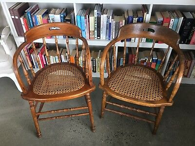 Captains Chairs (sold as a pair)