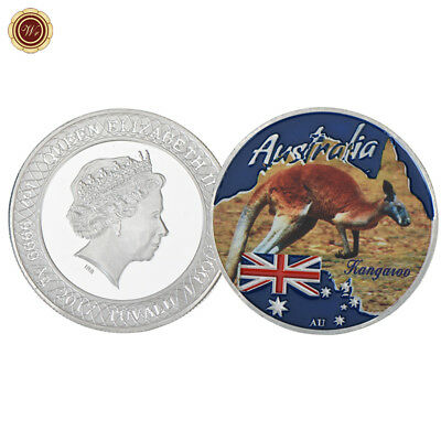 WR 2017 Australia Kangaroo SILVER Collectors Coin Mint Top Christmas Gift F Kids