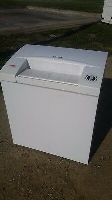 intimus 70 rx commercial business cross cut paper shredder level 3 security