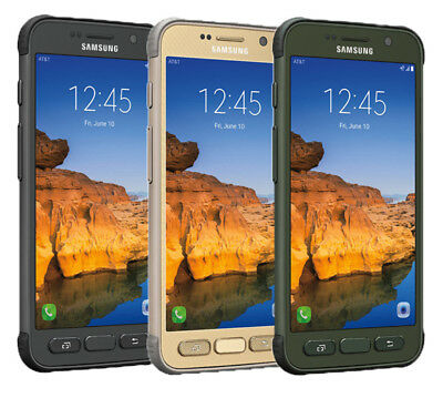 Samsung Galaxy S7 Active SM-G891A (Latest) 32GB AT&T GSM UNLOCKED 4G Smartphone