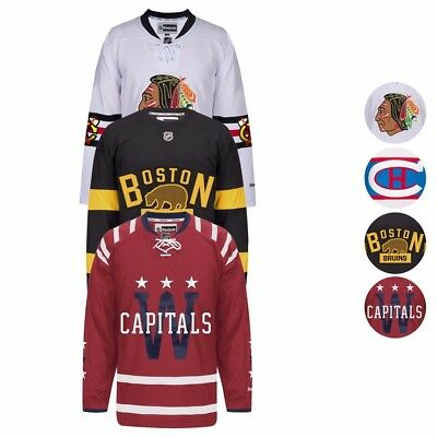 2015-2017 NHL Official Winter Classic Premier Team Jersey by Reebok Men's