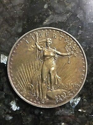 Oversized Novelty $20 Liberty Coin Paperweight