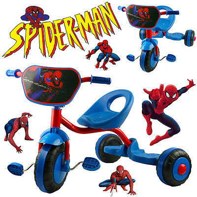 Disney Marvel Hero Spiderman Bike Trike Tricycle Kid 3 Wheel Car Ride On Toy