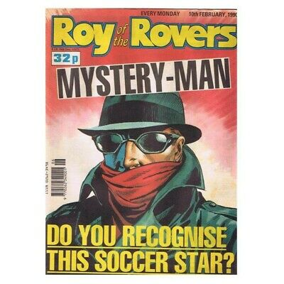 Roy of the Rovers Comic February 10 1990 MBox2790 Mystery-Man do you recognise t