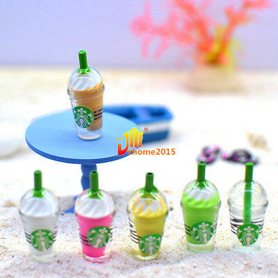 1x Miniature Dollhouse Small Coffee Cup Kitchen Room Food Drink Decor Mini World
