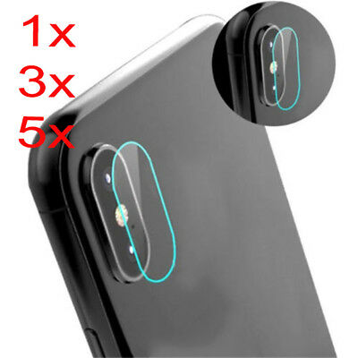 Lens &Flash Protective Screen For iPhone X 10 Explosionproof Soft Tempered Glass