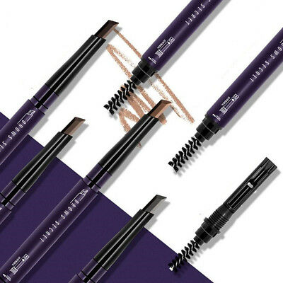 1 Pc Charming Eyebrow Pencil Waterproof with Brush Long-lasting Brand Makeup