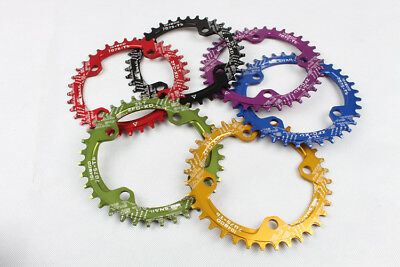 SNAIL MTB Bike Narrow Wide Round Oval Chainring Chain Ring BCD 96mm 32 34 36T