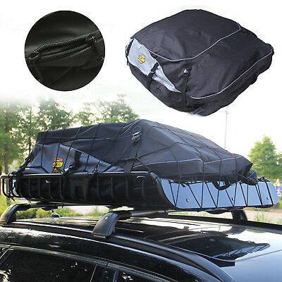 580 Litre Water Resistant Car Van Roof Travel Cargo Bag Box Storage Carrier Top