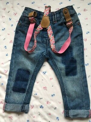 Next Baby Girl Jeans 9-12months