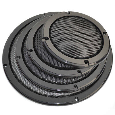 "4/5/6.5/8/10"" inch Audio Speaker Cover case Decorative Circle Metal Mesh Grille"