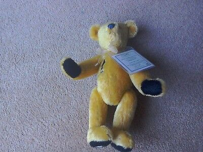 Deans Teddy Bear ,Collectors Club 2000 ,Golden Dawn.