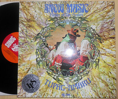 Tupac-Amaru Snow Music Flutes Of The Andes Lp