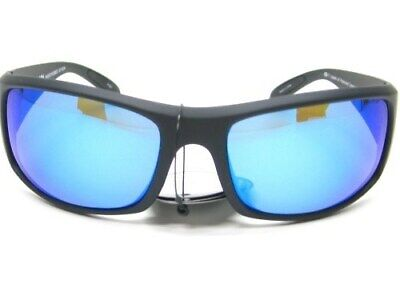 f010d0f48ef Strike King S11 Optics Black Frame Okeechobee Blue Polarized Lens Sunglasses