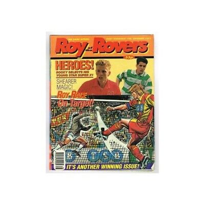 Roy of the Rovers Comic September 19 1992 MBox2791 Heroes! Rocky selects his you