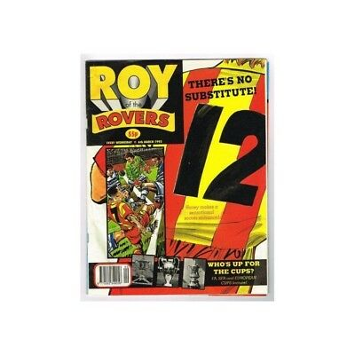 Roy of the Rovers Comic March 6 1993 MBox2791 There's no substitute - Who's up f