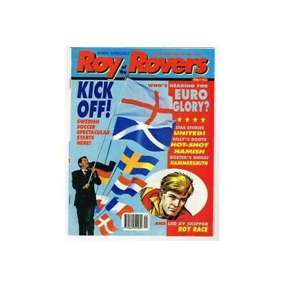 Roy of the Rovers Comic  June 13 1992 MBox2791 Kick Off! Swedish soccer spectacu