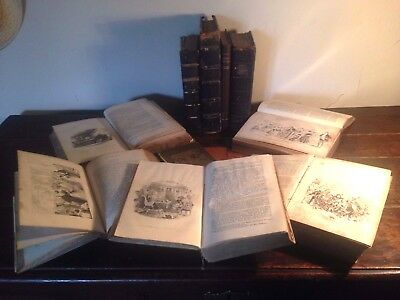 Ten Charles Dickens First Editions For Restoration - 1St Edition - Very Rare !