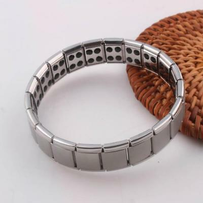 Bracelet Titane Germanium énergie magnétique Antifatigue Anti-stress
