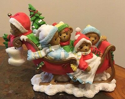 Cherished Teddies #4016379 Richard Annette Barbara Jim & Tiffany 2009 SIGNED NIB