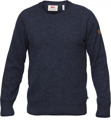 Fjallraven Mens Ovik Re Wool Sweater Knitted