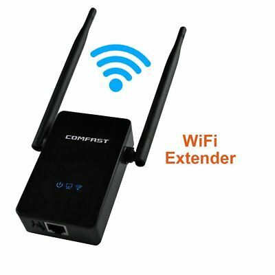 750Mbps Wireless Dual Band 2.4/5G Repeater Router WiFi Extender AP Range EU Plug