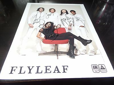 REAL Flyleaf Autograph Lacey Sturm Signed