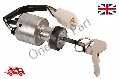 Brand New  FORKLIFT IGNITION SWITCH WIRED 4 PIN