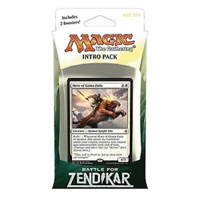 """Magic the Gathering - Battle for Zendikar: """"Rallying Cry"""" Intro Pack (White)"""