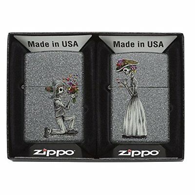 Genuine Zippo Windproof Lighter All Metal Construction- Day of the Dead Lighters
