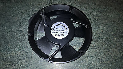 Multicomp Cooling Fan Axial MC21675 115VAC 220/230mA Impedance Protected New