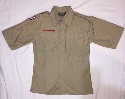 BSA Webelo Boy Scout Uniform Shirt Youth Medium Official Cub Webelos Scouts