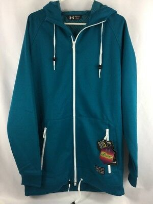 Under Armour Storm Infrared Coldgear Mens Hoodie Loose Fit Large NEW $99 Size XL