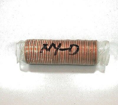 New York 2001-D Uncirculated Bank Wrapped Roll
