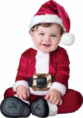 Infant Toddler Baby Santa Clause Christmas Costume