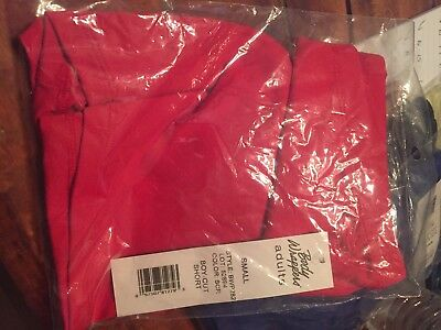 New Body Wrappers BWP282 Women's Small XS ProWEAR Scarlet Red Boy-Cut Shorts NWT