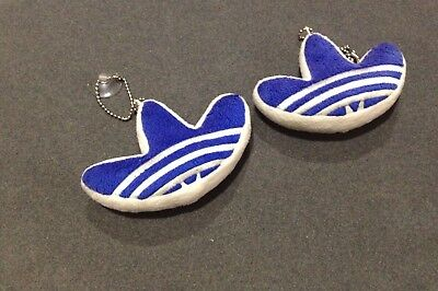Adidas Originals trefoil logo pillow key chain small rare.
