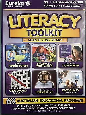 Literacy Toolkit - Full version for Windows - Brand New Sealed!