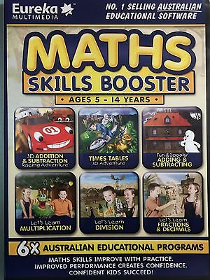 Maths Skills Booster - Full version for Windows - Brand New Sealed!